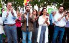 Vox cierra campaña frente al Supremo: «Sánchez será presidente gracias a los de la hoz y el martillo»