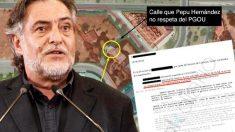 El Ayuntamiento de Madrid confirma que Pepu Hernández no tenía licencia de obra.