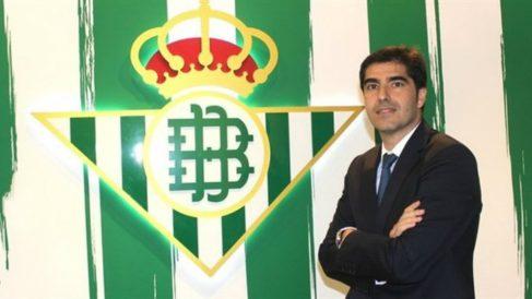 Ángel Haro, presidente del Betis (Real Betis)