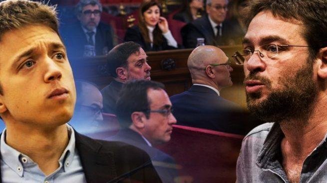 Fachín amenaza a Errejón por distanciarse del caso de los diputados golpistas: «Cuando te pille…»