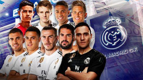 El Real Madrid quiere hacer caja con diez jugadores.