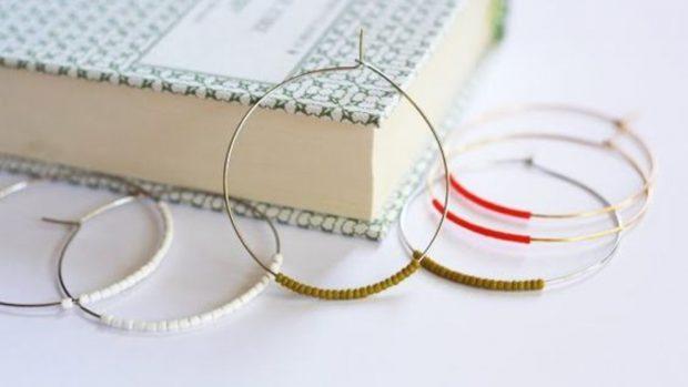 Cómo hacer unos aretes originales y sencillos