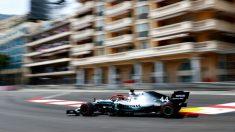 Hamilton, en la clasificación del GP de Mónaco. (Getty)