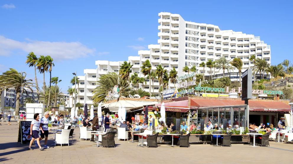 Playa del Inglés en Maspalomas, Gran Canaria (Foto: iStock)
