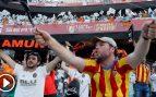 La afición del Valencia acalla la enésima pitada independentista al himno de España