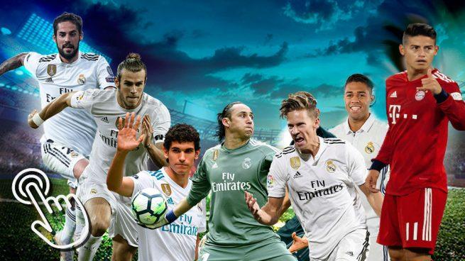 Encuesta: ¿por cuánto venderías a los jugadores del Real Madrid?