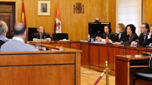 Una de las sesiones del juicio por la muerte de la pequeña Sara.