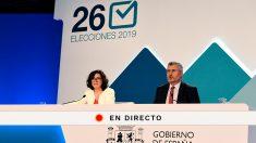 Escrutinio, recuento y resultado de la Elecciones municipales, autonómicas y europeas 2019 del 26M.