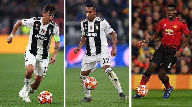 La Juventus ofrece a Dybala y Alex Sandro por Pogba