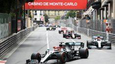 Hamilton impuso su ley en el GP de Mónaco de F1. (AFP)