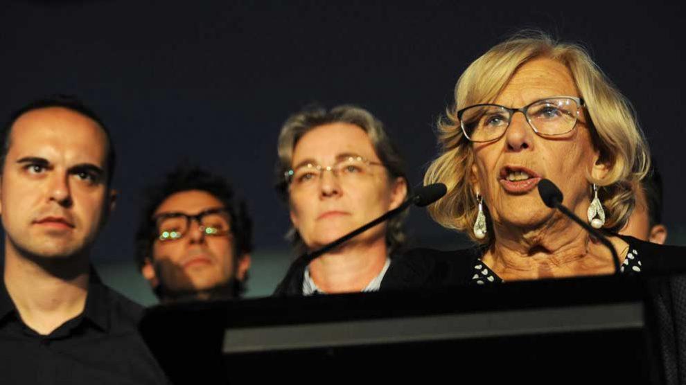 Manuela Carmena. Foto: Europa Press.