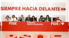 La ejecutiva del PSOE, reunida este lunes en Ferraz