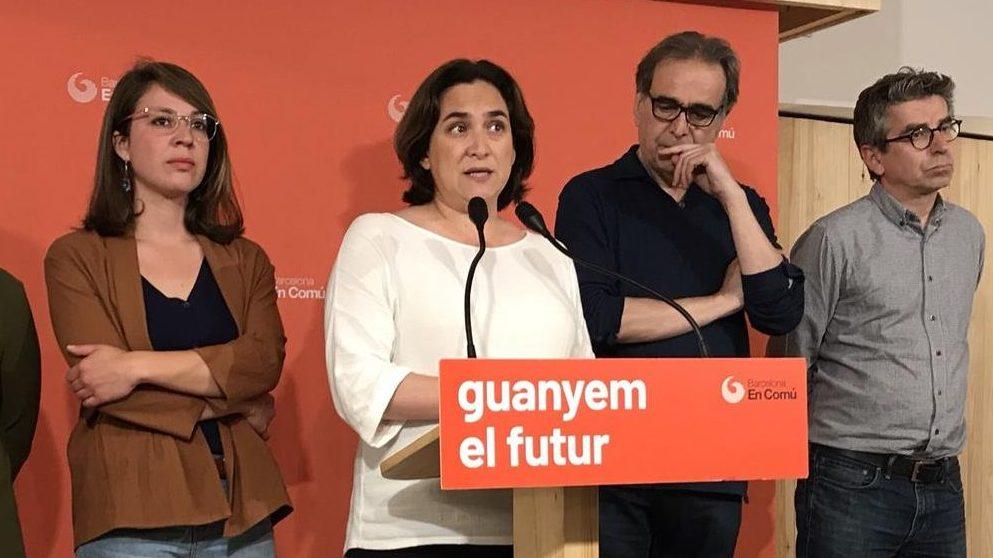 Ada Colau, alcaldesa en funciones de Barcelona @EP