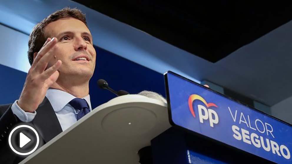 Pablo Casado, presidente del PP. Foto. Flickr.