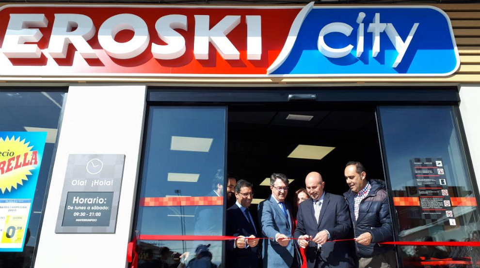 Apertura de un Eroski City