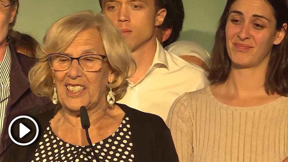 Rita Maestre se muestra triste ante la despedida de Carmena.