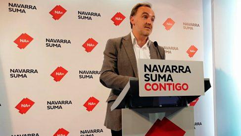 Javier Esparza, candidato de Navarra Suma (Foto: EP)