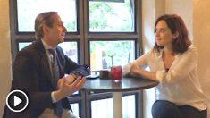 Isabel Díaz Ayuso en su entrevista con OKDIARIO