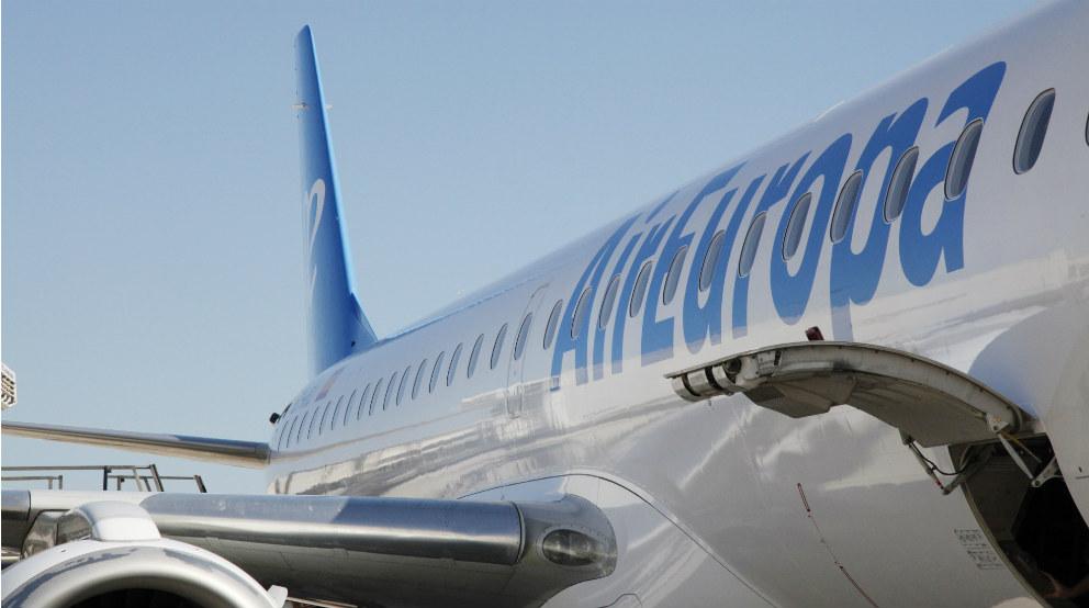 Un avión Embraer de Air Europa