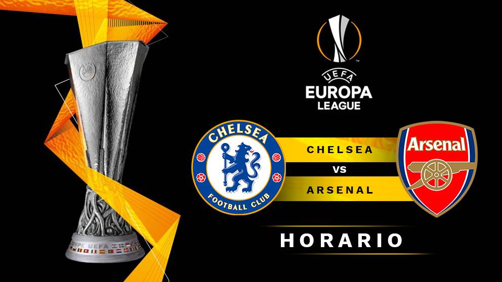Final Europa League 2019: Chelsea – Arsenal   Horario del partido de fútbol de Europa League.