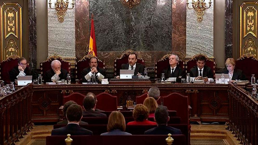 Juicio del 'procés' en el Tribunal Supremo.
