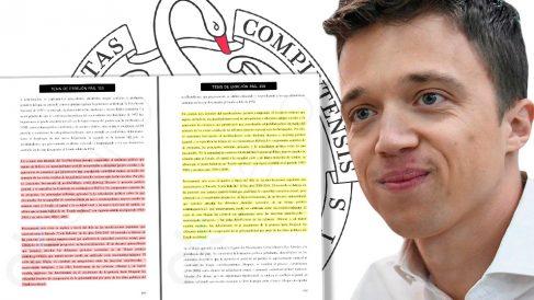Errejón insertó párrafos idénticos en su tesis doctoral de 654 páginas.