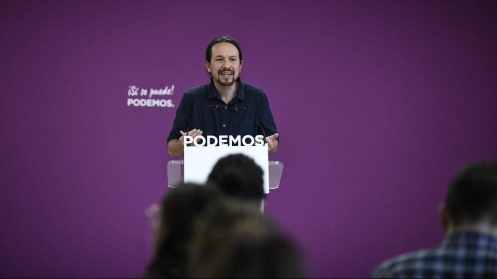 Pablo Iglesias, líder de Podemos @EP