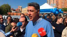 El ex presidente del PP catalán y candidato a la Alcaldía de Badalona, Xavier García Albiol. Foto: EP
