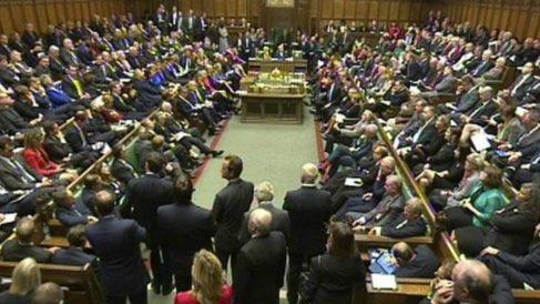 Cámara de los Comunes británica. Foto: Agencias