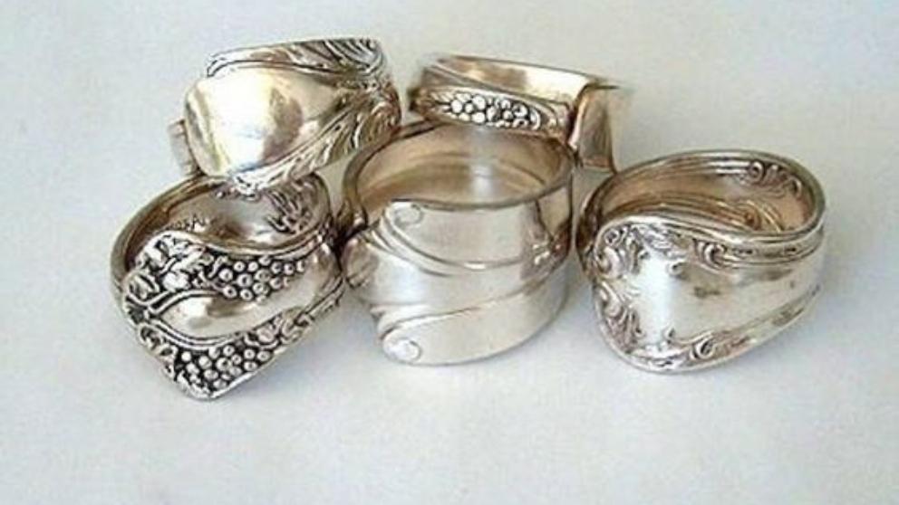 Pasos para hacer joyas con cubiertos