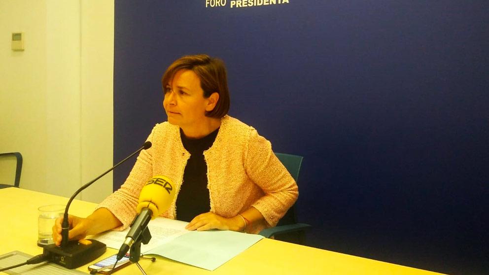 Carmen Moriyón, de Foro Asturias (Foto: EP)