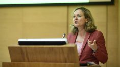Nadia Calviño, vicepresidenta de asuntos económicos.