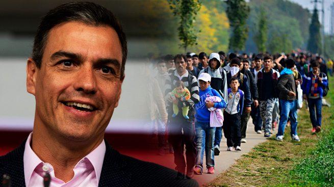 Sánchez dispara la inmigración ilegal mientras aleja a los extranjeros cualificados