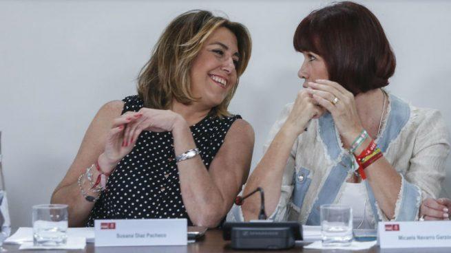 Díaz se muestra satisfecha de la reunión con Sánchez: «Vamos a hacer un magnífico trabajo los dos»