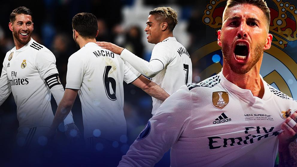 El vestuario del Real Madrid quiere que Ramos se quede.