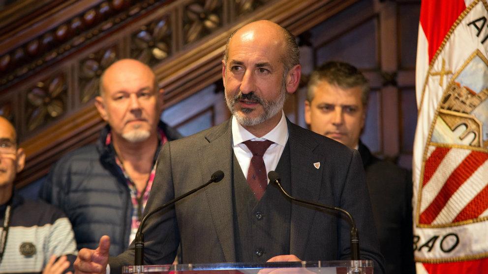 Aitor Elizegi, presidente del Athletic (Athletic Club)