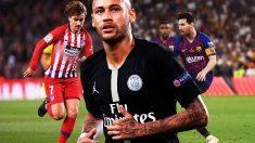 El Barcelona acerca a Neymar al Real Madrid.