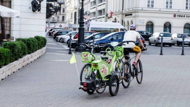 hacer remolque para bicicleta