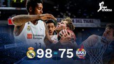 El Real Madrid superó con facilidad a Manresa.