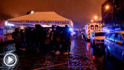 Servicios de emergencia en el Danubio (Foto: Infoemergencias)