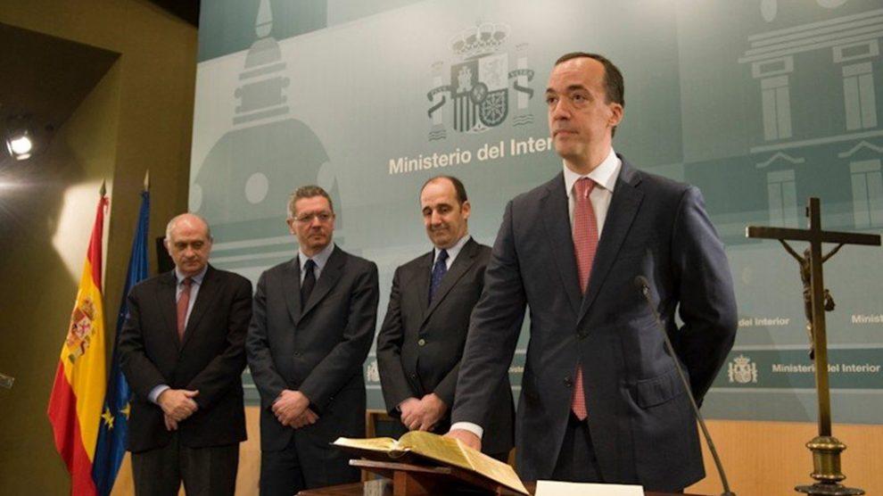 Francisco Martínez Vázquez, ex secretario de Estado de Seguridad.