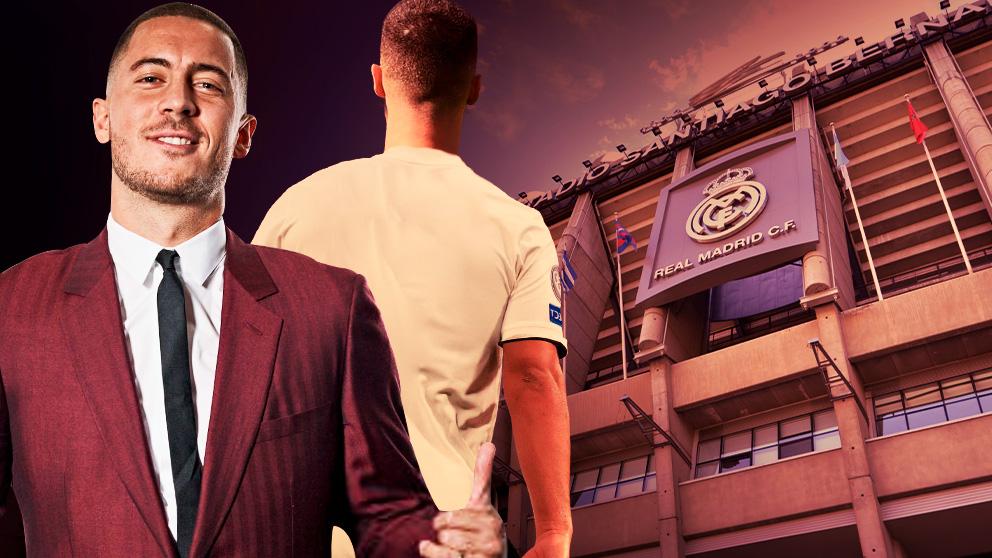 El Real Madrid presentará a Hazard el jueves en el Santiago Bernabéu.