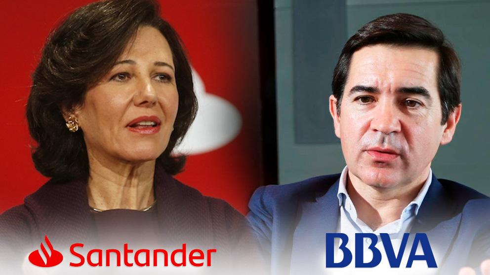 Ana Botín y Carlos Torres