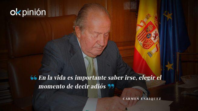 Saber retirarse a tiempo, clave de la decisión del Rey Juan Carlos I