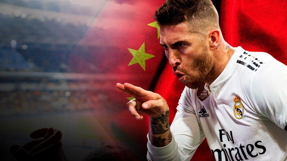 Las apuestas no descartan la marcha de Ramos a China.