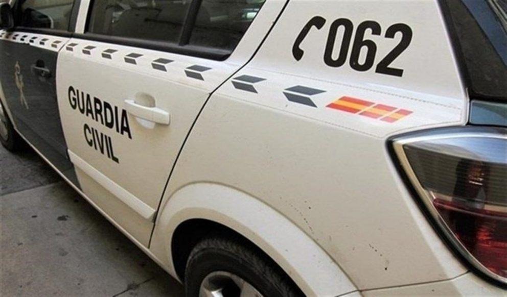 Un coche de la Guardia Civil @EP