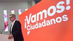 El secretario general de Ciudadanos, José Manuel Villegas. Foto: EP