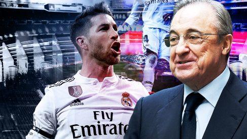 Florentino Pérez y Sergio Ramos han sellado la paz.