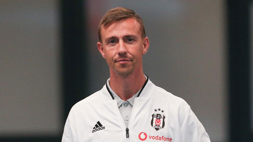 Guti, en su etapa como segundo entrenador del Besiktas. (Getty)