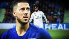 La llegada de Hazard al Real Madrid puede provocar la salida de Isco.
